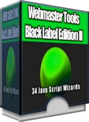 Product picture Webmaster Tools - Black Label Edition