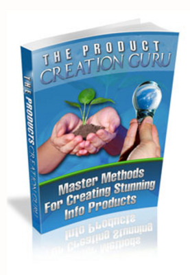 Product picture Products Creation Guru with Master Resale Rights