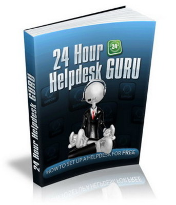 Product picture 24 Hour Helpdesk Guru with Resale Rights