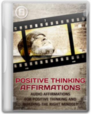 Product picture Positive Thinking Affirmations Audios with MRR