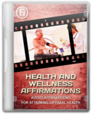 Product picture Health and Wellness Affirmations Audios with MRR