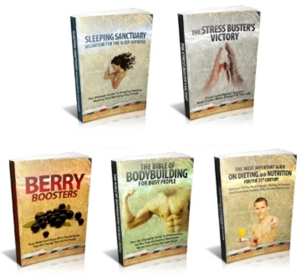 Product picture Health And Wellness Series with Resale Rights
