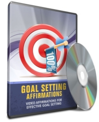Product picture Affirmations Video -Goal Setting with Resale Rights
