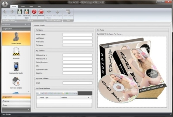 Product picture My Biz Manager Pro Software