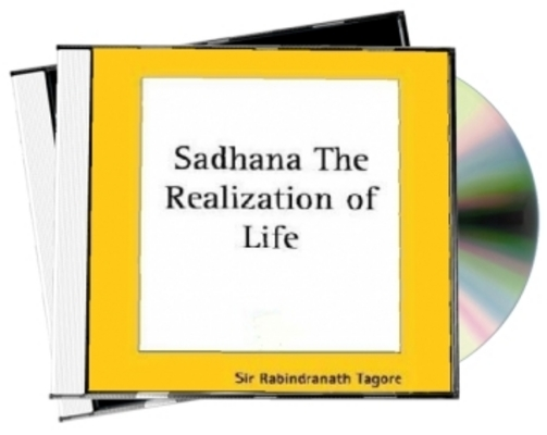 Product picture Sadhana Audiobook by Rabindranath Tagore with MRR