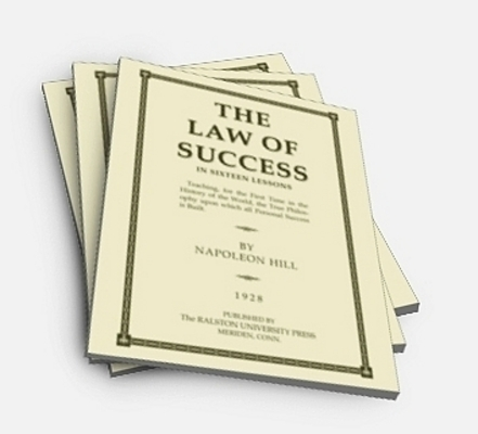 Product picture 16 Volume Law of Success by Napoleon Hill with MRR
