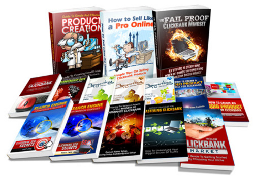 Product picture Clickbank Crash Course with Master Resale Rights