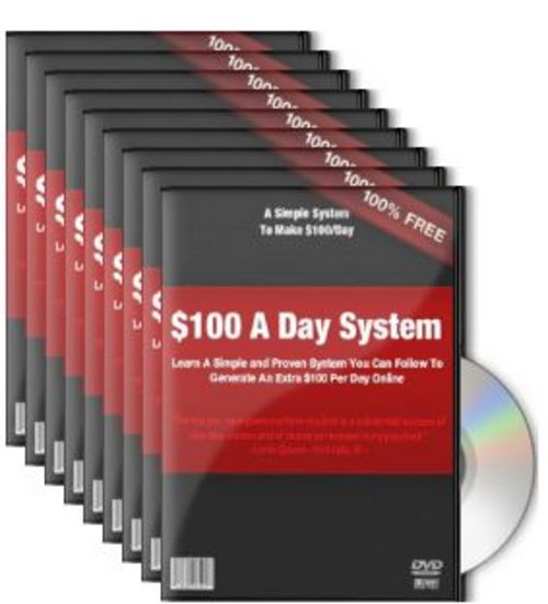 Product picture Paul Counts $100 Per Day System with Resale Rights